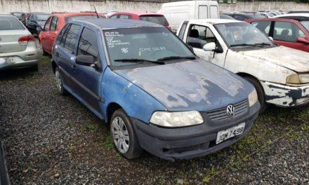 Leilão online do Detran oferece 610 lotes de veículos e sucatas no próximo dia 10