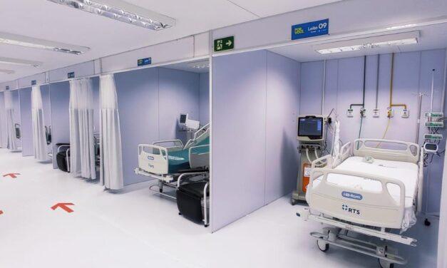 Hospital de Campanha de Itabuna receberá 20 pacientes nas primeiras 24 horas de operação