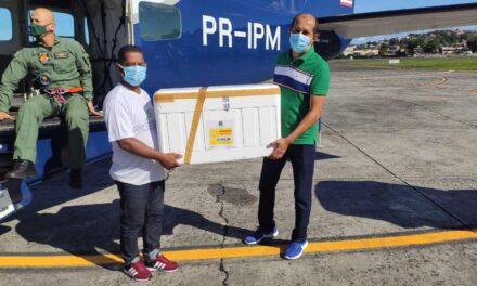Região recebe 16.580 doses das vacinas Coronavac e Astrazeneca para segunda dose
