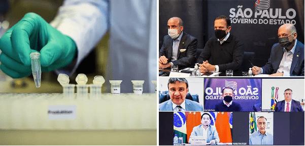 Após diálogo com governadores, China libera insumos para vacinas