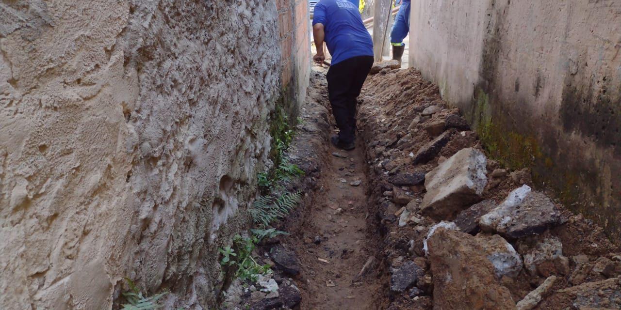 Emasa trabalha para normalizar abastecimento de água no Bairro Conceição