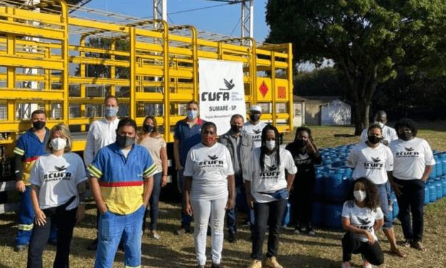 Ultragaz e CUFA distribuem 8 mil botijões de gás em favelas de São Paulo e da Bahia