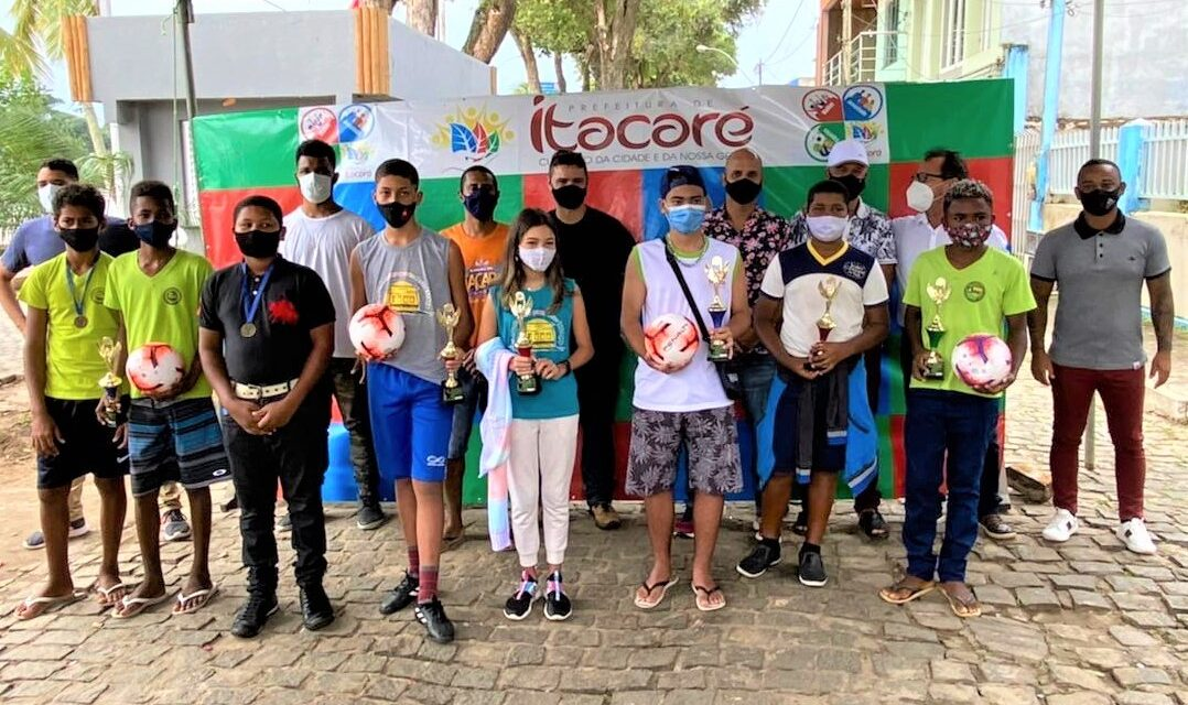 Premiados os vencedores do Desafio de Embaixadinha Online de Itacaré