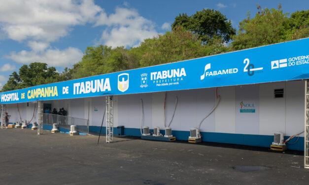 Hospital de Campanha de Itabuna é desativado após seis meses