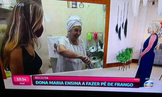 """No """"Mais Você"""", Ana Maria Braga mostra receita de pé de galinha"""