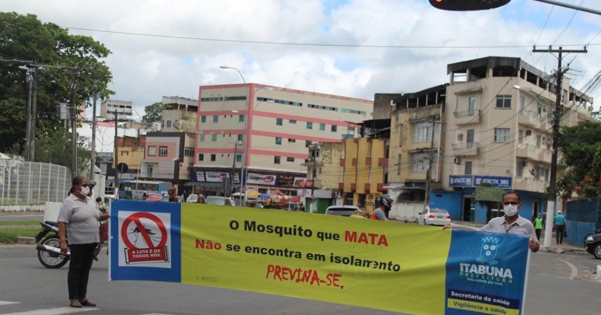 Prefeitura inicia novo levantamento sobre a infestação do Aedes aegypti em Itabuna
